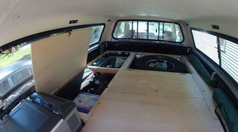 Truck Build Phase 2 Sleeping And Storage